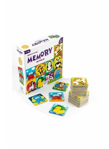 CA Games Ca Games 5041 Mey Hafıza Kartları Hayvanlar 48 Parça Renkli
